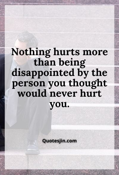 Relationship Disappointment Quotes