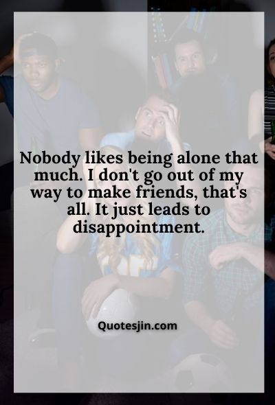 Friendship Disappointment Quotes